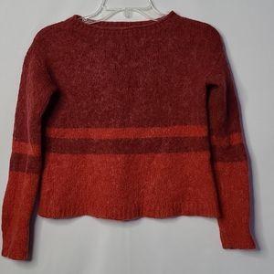 Country Road long sleeve crop alpaca sweater sz XS
